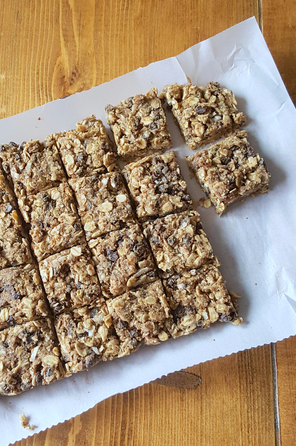 Nut-free, easy, healthy, kid friendly snacks recipe.