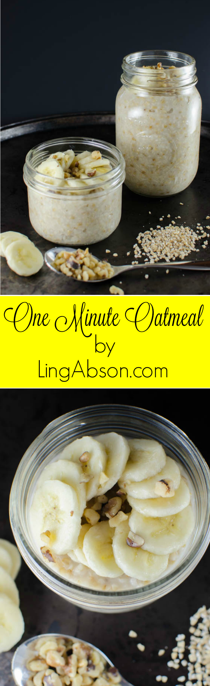 Two Minute Oatmeal That Lasts For a Week by Ling Abson